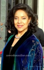 The always classy and lovely Phylicia Rashad at the 42nd NAACP Image Awards. Photo Credit: Dennis J. Freeman/News4usonline.com