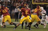 Cody Kessler passedfor 321 yards and three touchdowns to claim the National University Holiday Bowl Offensive MVP trophy. Photo Credit: Jevone Moore/News4usonline.com