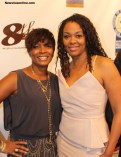 Actress Vanessa Bell Calloway and a firiend. Photo Credit: Corey Cofield/News4usonline.com
