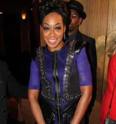Tichina Arnold is all smiles at the 2014 NAACP Theatre Awards. Photo Credit: Corey Cofield/News4usonline.com