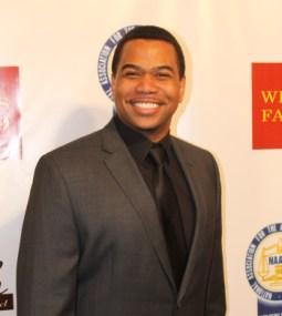 Actor Omar Gooding on the red carpet. Photo Credit: Corey Cofield/News4usonline.com
