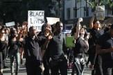 Hundreds of demonstrators showed up on Saturday, Dec. 6 for the Blackout Hollywood march on Hollywood Blvd.. Photo Credit: Dennis J. Freeman/News4usonline.com