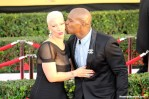 Actor Terry Crews and wife Rebecca have some fun on the red carpet. Photo by Dennis J. Freeman/News4usonline.com