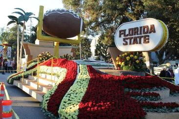 University of Florida State float