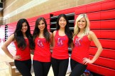A red and black smile quartet...Photo by Dennis J. Freeman/News4usonline.com