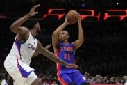 "DeAndre Jordan applies the ""D."" Photo by Jevone Moore/News4usonline.com"