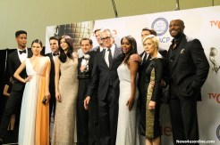 """The cast of """"How to Get Away With Murder"""" celebrate their win at the 4th NAACP Image Awards. Photo by Dennis J. Freeman/News4usonline.com"""