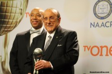 Music mogul Clive Davis was recognized at the 46th NAACP Image Awards. Photo by Dennis J. Freeman/News4usonline.com