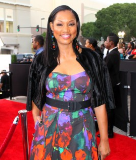 The lovely Garcelle Beauvis stands out on the red carpet at the 46th NAACP Image Awards. Photo by Dennis J. Freeman/News4usonline.com