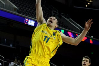 Australia posted a big game agains Nippon in their division game on Sunday, July 26, 2015. Photo by Dennis J. Freeman