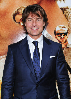 TORONTO, CANADA - JULY 27: Actor Tom Cruise attends the Canadian Fan Premiere of 'Mission: Impossible - Rogue Nation' at the Cineplex Scotiabank Theatre on July 27, 2015 in Toronto, Canada. (Photo by George Pimentel/Getty Images for Paramount Pictures International)