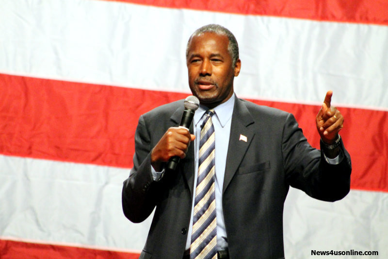 Thousands of people came out to the Anaheim Convention Center to hear Dr. Ben Carson speak politics. Photo by Dennis J. Freeman/News4usonline.com