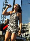 Singer Elle Varner heats up the Long Beach Jazz Festival. Photo by Dennis J. Freeman/News4usonline.com
