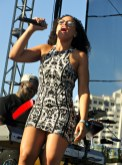 Singer Elle Varner heats up the Long Beach Jazz Festival. Photo by Dennis J. Freeman/News4usonline.com