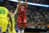 Jordan Woodard came up big for the Oklahoma Sooners in the Elite Eight game against Oregon, scoring 13 points.