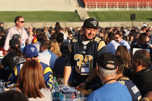 NFL All-Access: LA Rams/Photo by Astrud Reed/News4usonline