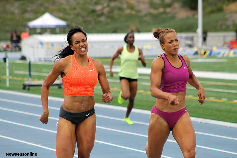 Carol Rodriguez (left) is hoping to make her third Olympic team representing Puerto Rico. Photo by Dennis J. Freeman/News4usonline.com
