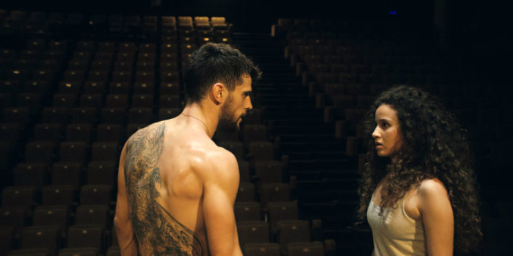 """Kevin Mishel (left) and Oulaya Amamra make for great romantic chemistry in """"Divines."""" Courtesy photo"""