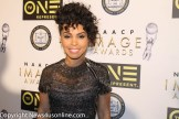 """Underground"" star Amirah Vann walk the red carpet at the NAACP Image Awards Nominees Luncheon on Saturday, Jan. 28, 2017. Photo by Dennis J. Freeman/News4usonline.com"