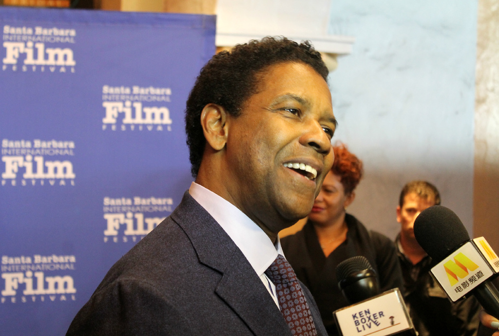 Denzel graces Santa Barbara Film Festival