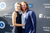 Los Angeles Dodgers third basean Justin Turner on the blue carpet of the Los Angeles Dodgers Foundations 3rd Annual Blue Diaond Gala June 8 at Dodger Stadium Photo by Dennis J Freeman for News4usonline