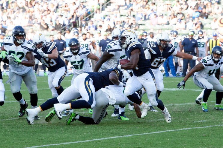 More preseason action. Photo by Astrud Reed/News4usonline