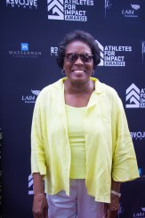 Tennessee State Tigerbelle Wyomia Tyus was the main honoree at the Athletes for Impact Awards. Photo by Jada Stokes for News4usonline