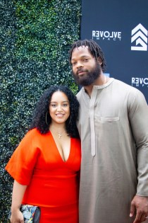 NFL star Michael Bennett at the Athletes for Impact Awards on Monday, July 16, 2018. Photo by Jada Stokes for News4usonline