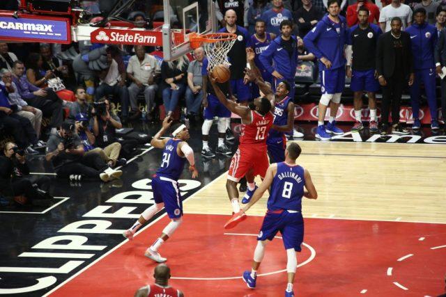 NBA Clippers-Rockets