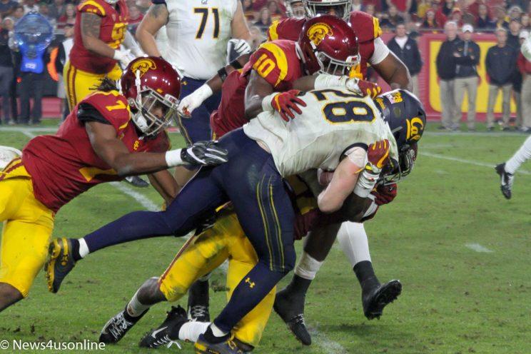college football at the LA Coliseum