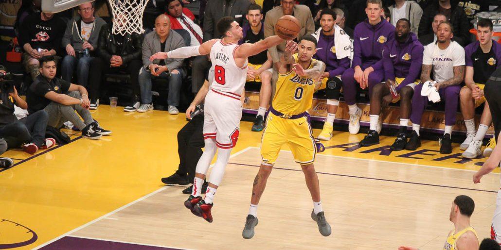 Lakers star Kyle Kuzma making plays