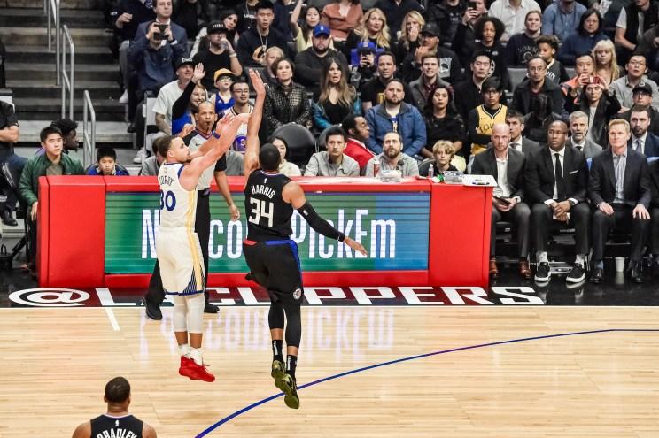 NBA basketball: Stephen Curry
