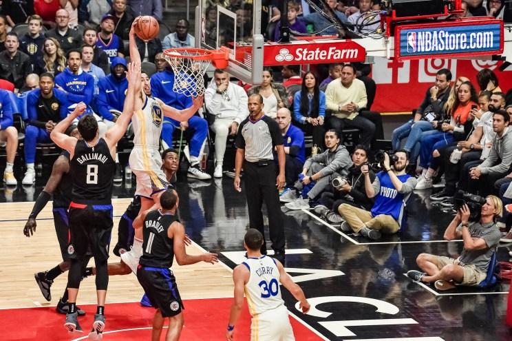 NBA basketball: Klay Thompson