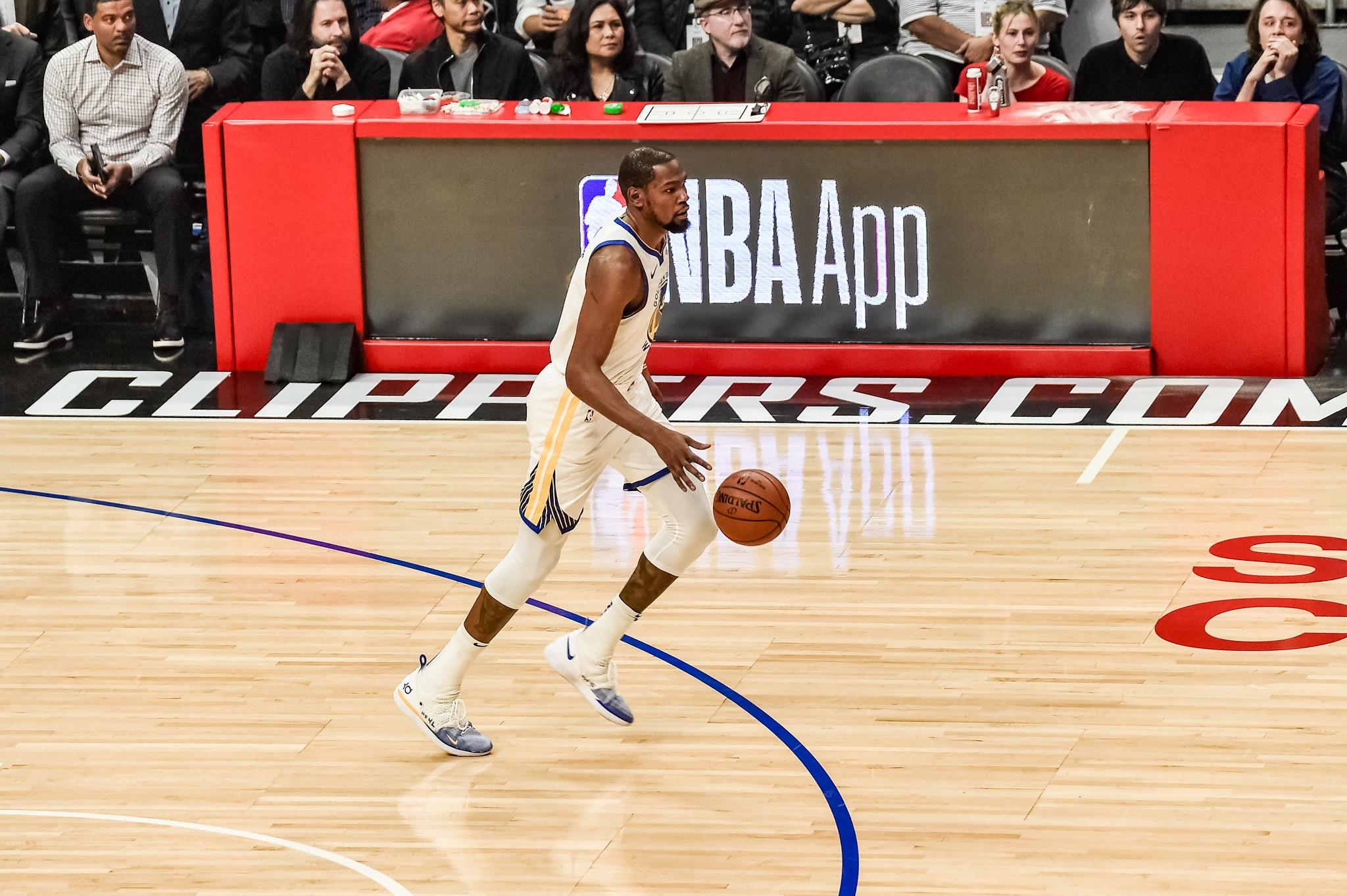 NBA basketball: Kevin Durant