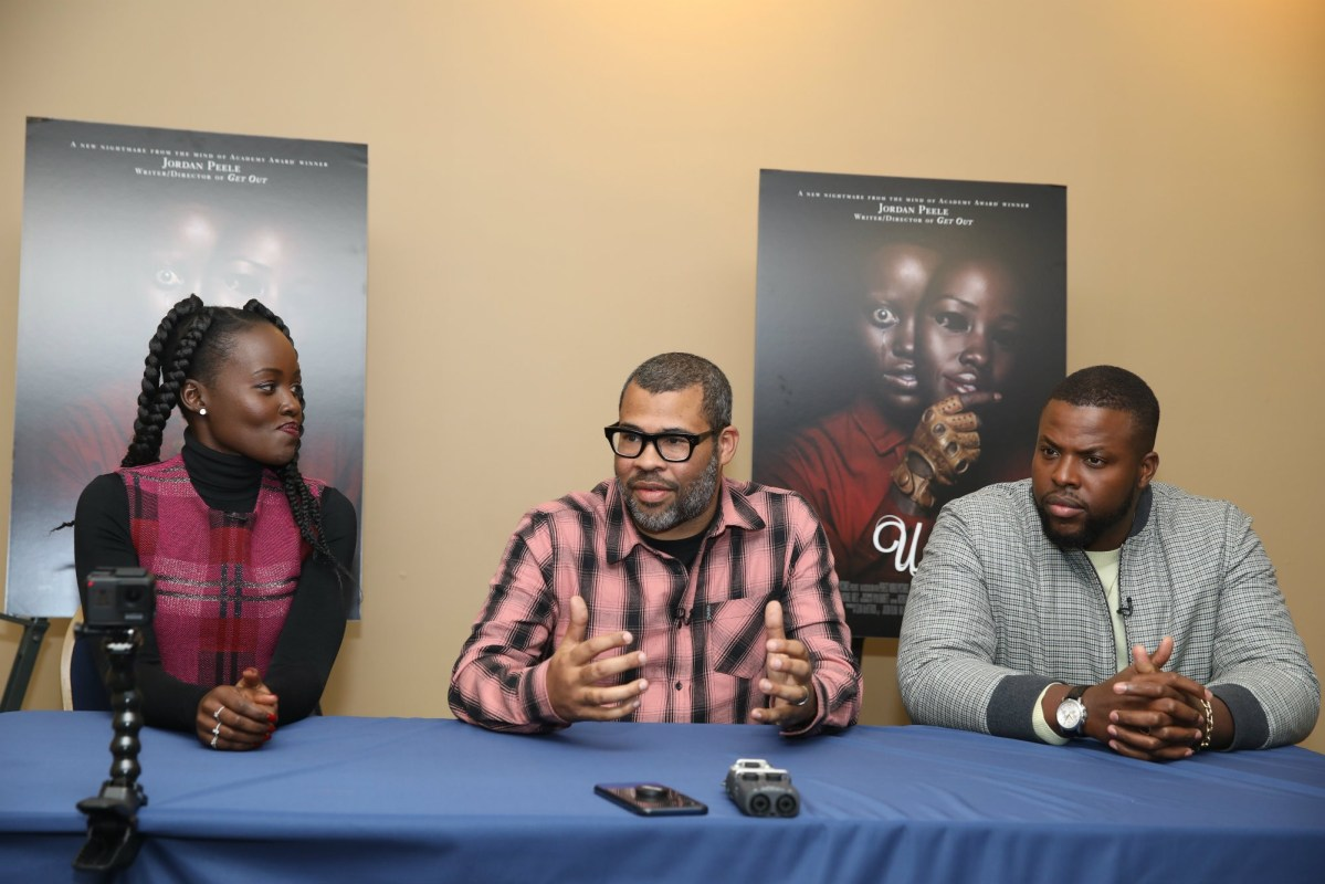 Jordan Peele's 'Us' vibes well at Howard University screening