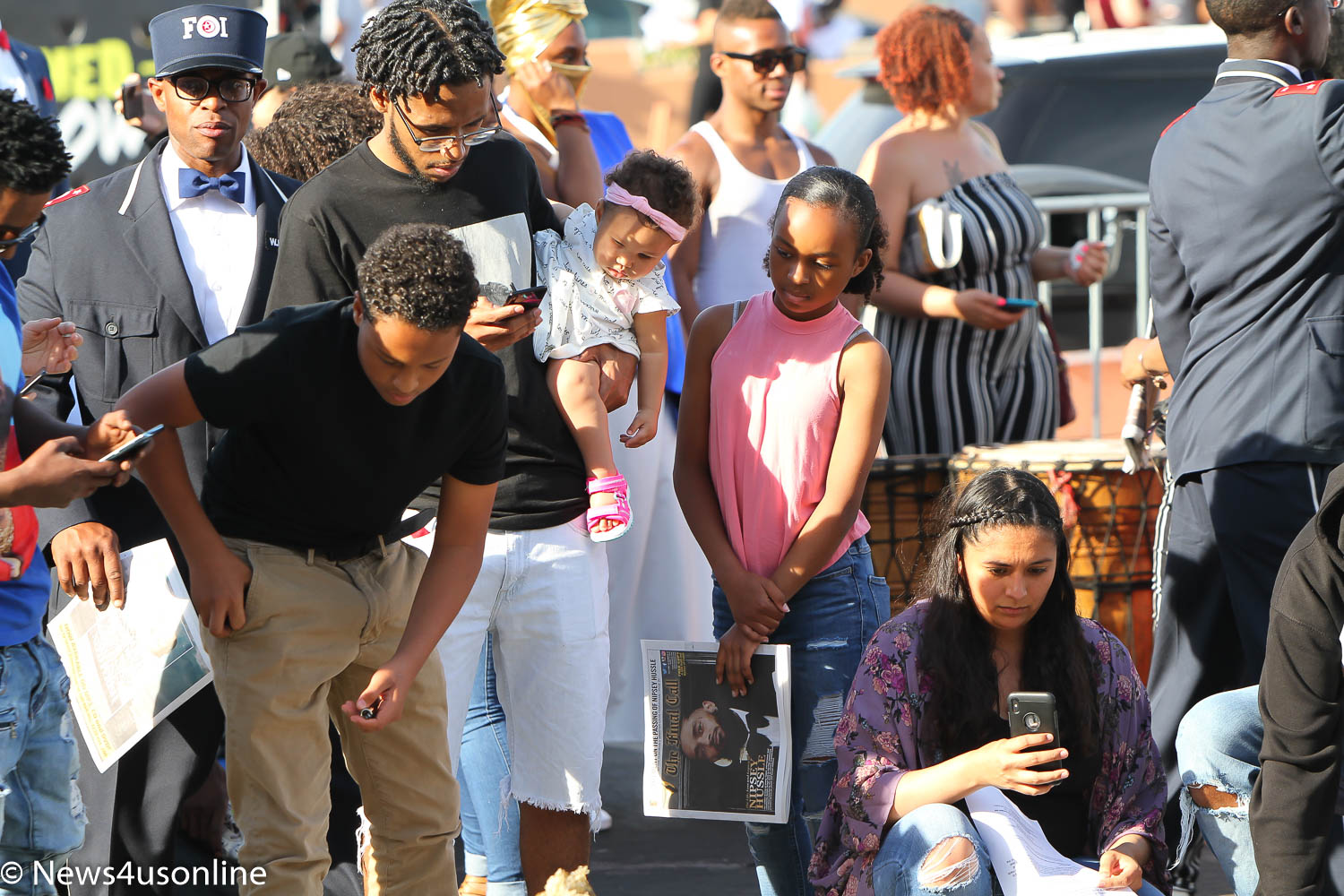 The love continues to pour in for Nipsey Hussle   News4usonline com