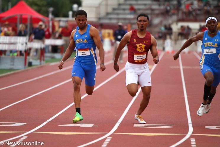 Sunday, April 28, 2019-USC-USC Dual Track and Field meet. Photo by Dennis J. Freeman/News4usonline