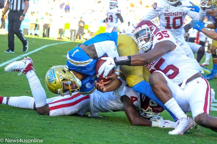 UCLA versus Oklahoma college football