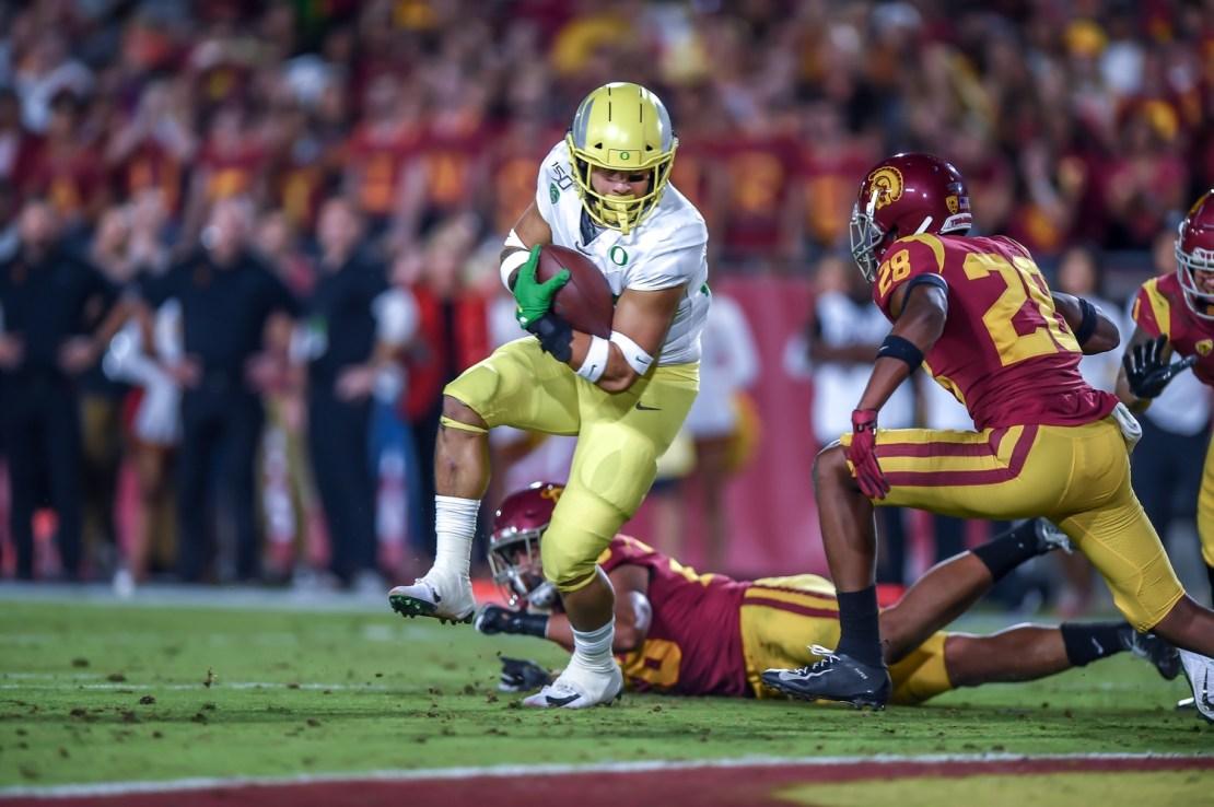 Oregon versus USC: College Football