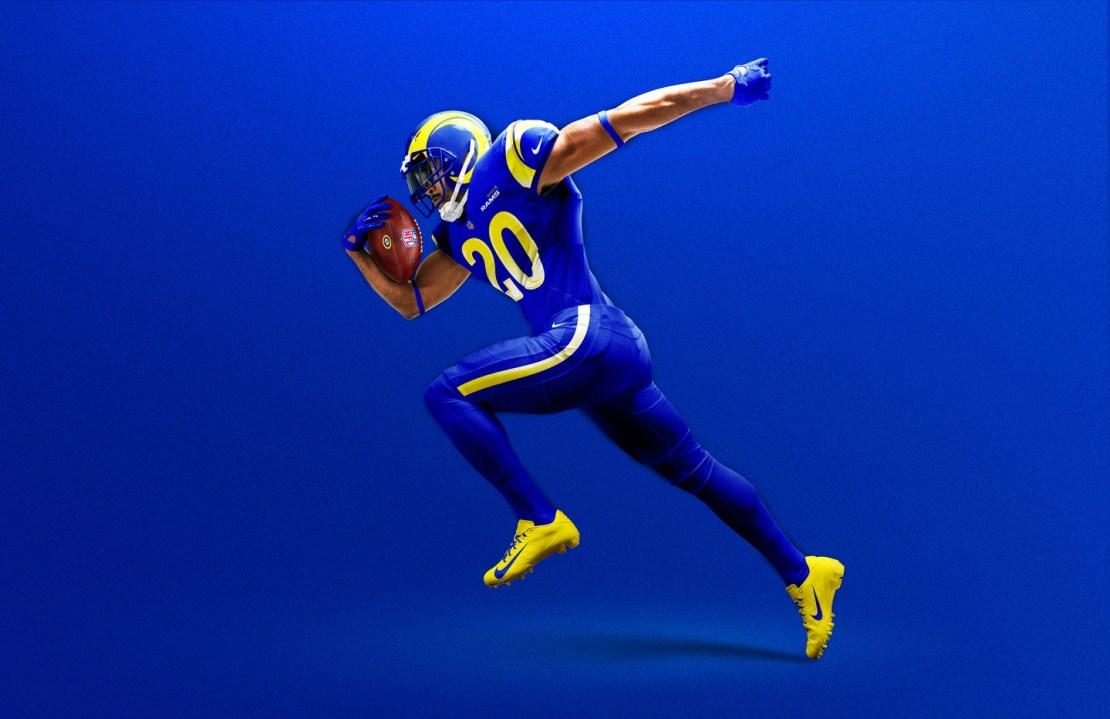 Los Angeles Rams unveil new uniforms