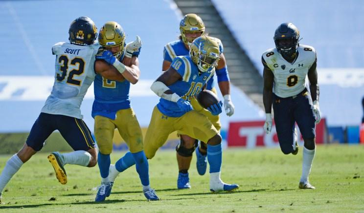 UCLA running back Demetric Felton Jr.
