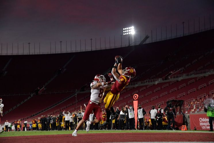 USC wide receiver Amon-Ra St. Brown