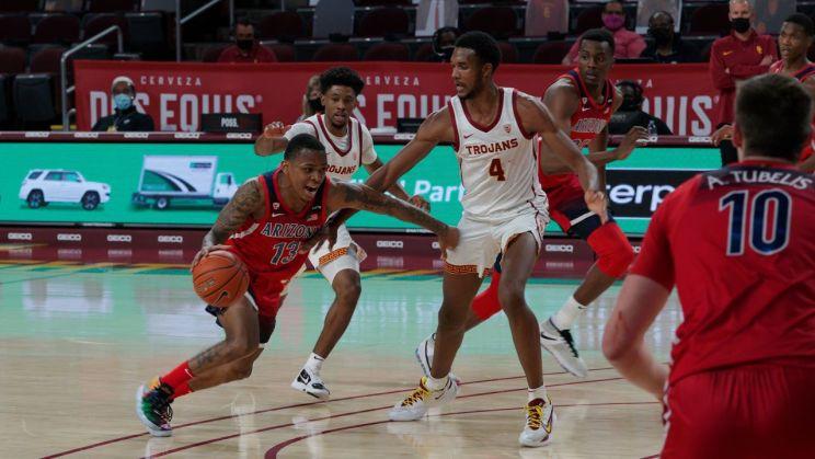 Men's college basketball: USC-Arizona