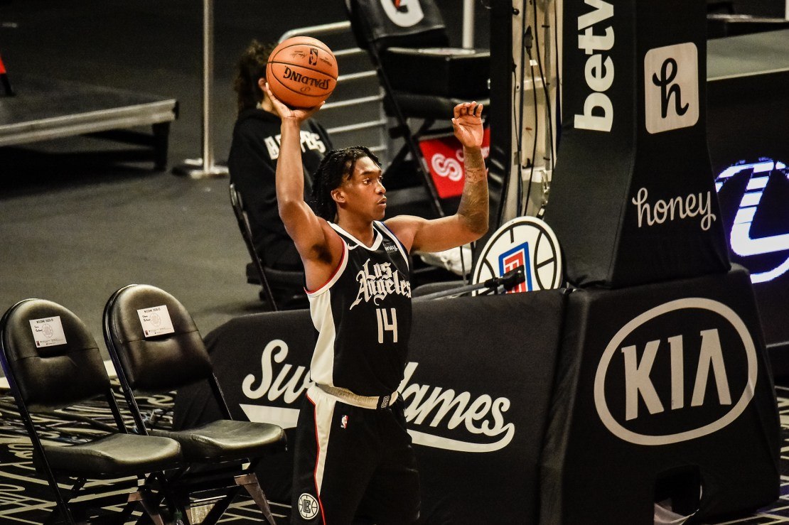 Terance Mann of the Los Angeles Clippers