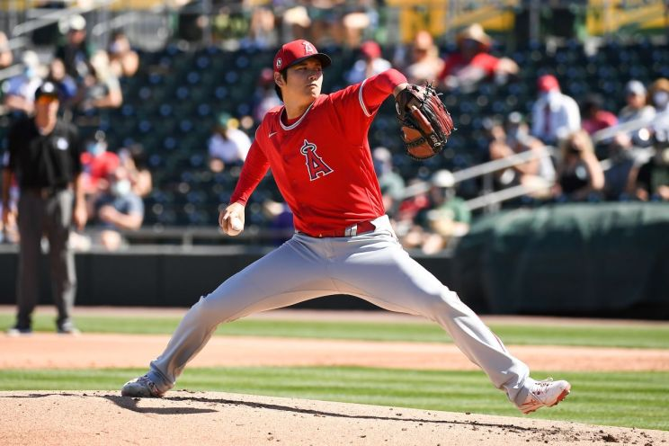 Los Angeles Angels pitcher Shohei Ohtani has impressed during spring training. Photo credit: Angels Baseball