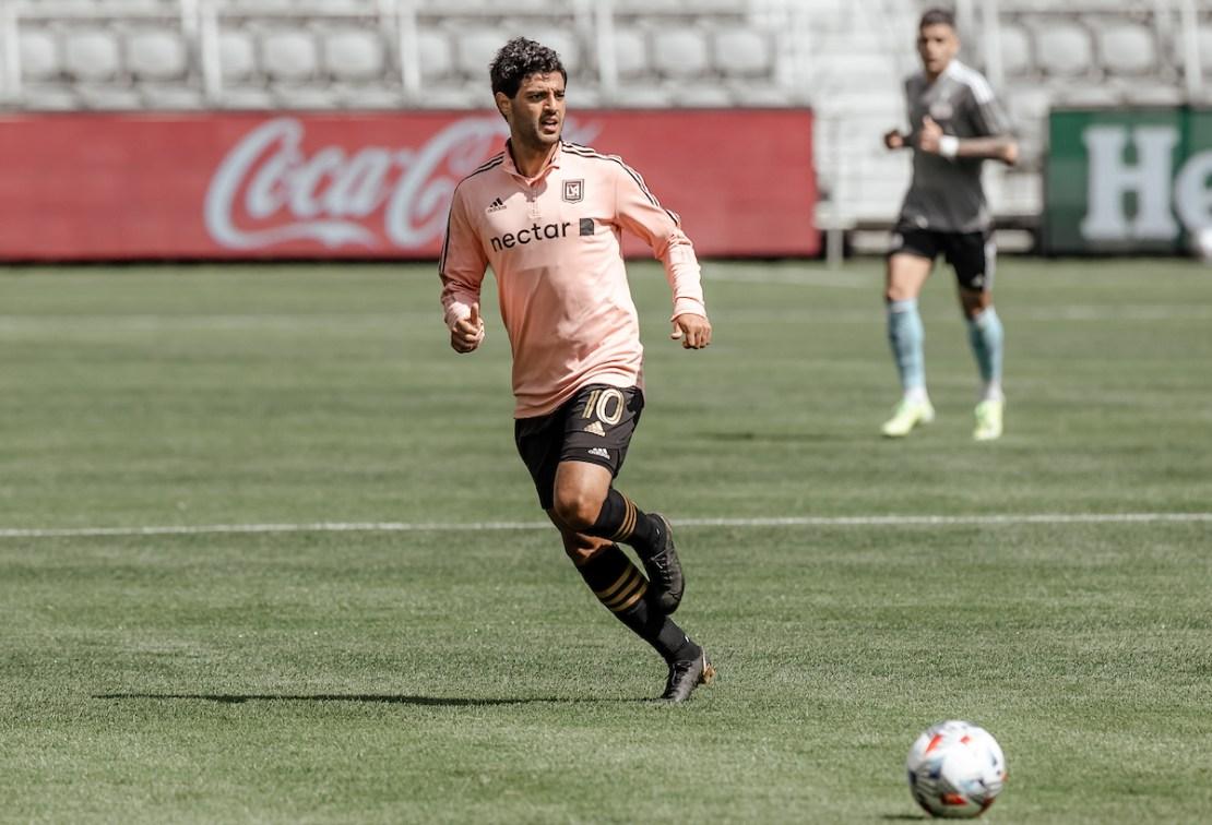 Los Angeles Football Club forward Carlos Vela