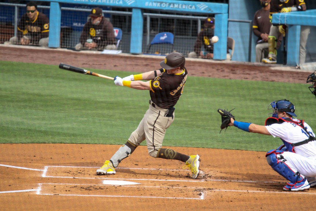 The San Diego Padres beat the Los Angeles Dodgers in three of four recent games the two teams played against one another. Photo credit: Dennis J. Freeman/News4usonline