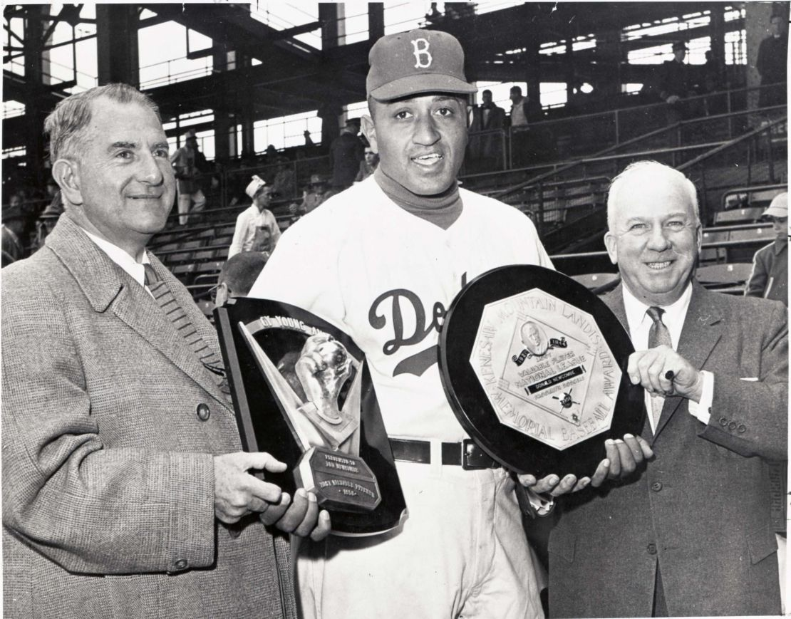 Pitcher Don Newcombe of the Brooklyn/Los Angeles Dodgers might finally get into the Hall of Fame