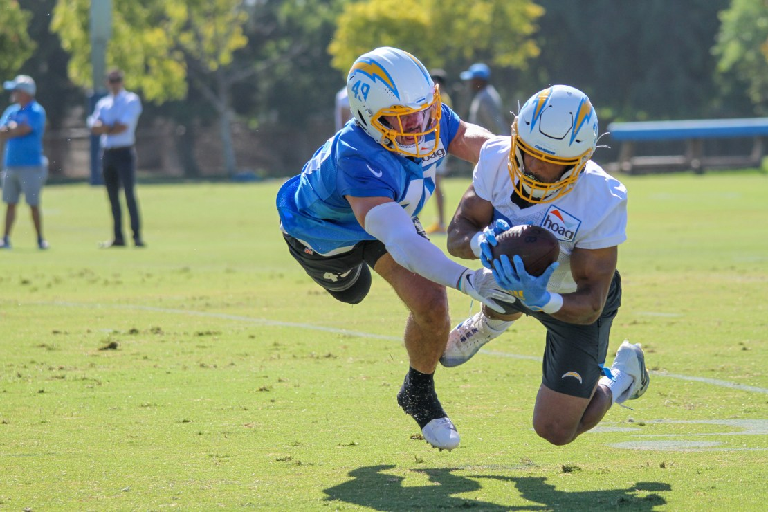 Chargers camp