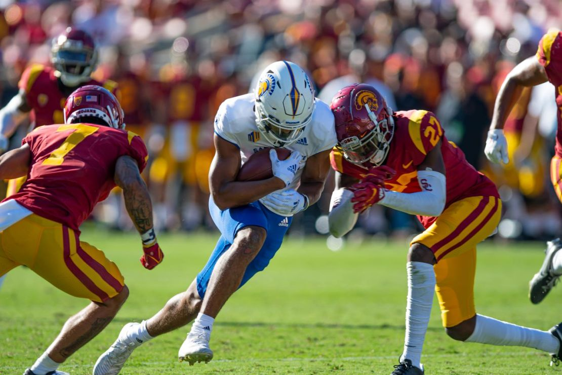 College Football: USC versus San Jose State